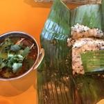 Spice&Dining KALA - マトンコランブ、アマダイのプットゥ