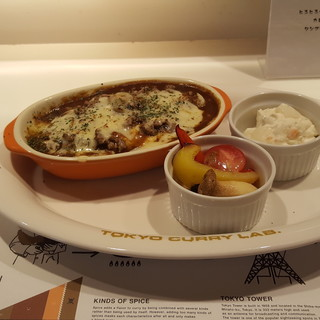 東京カレーラボ - 料理写真:レディース焼きチーズカレー