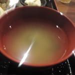 個室和食×肉バル KURA  蔵 - お味噌汁