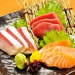 鮮魚御造り 3種盛り