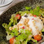 とめ手羽 - 手作り豆富サラダ