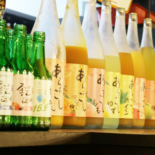 マッコリやチャミスルなどの韓国の飲み物を多数ご用意!!