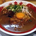 東大 - 【徳島ラーメン 並盛】¥680