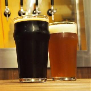 店内醸造手作りビールクラフトビール小規模醸造所です