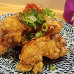 LBK CRAFT - 鶏唐揚げと生姜の奈良漬け甘ダレ炒めのUP。
