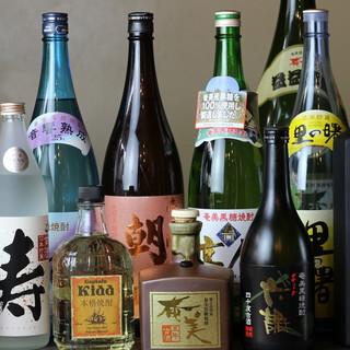 《約90種類以上》奄美大島の特産【黒糖焼酎】でほろ酔い気分◎