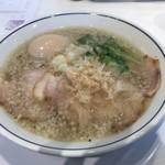 らーめん鱗 - 料理写真:味玉らーめん(塩)