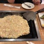 竹とんぼ - 料理写真:もんじゃ中〜