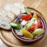 10品目野菜のアヒージョ