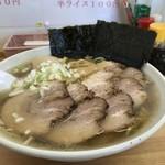 餃子屋さくら - 塩チャーシュー麺大盛り