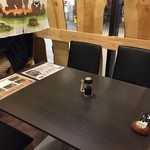天晴水産 ぽっぽ家 - テーブル席