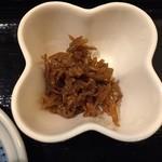 天晴水産 ぽっぽ家 - 小鉢(イカナゴの釘煮)