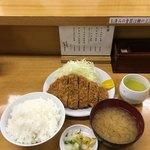 とんかつ いちよし - ロースかつ定食('18/03/30)