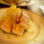 アルルの食堂 urura - 季節の旬のお魚の前菜などもぜひご賞味ください。