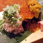 さざん屋 - 料理写真:ぶっかけ特選寿司