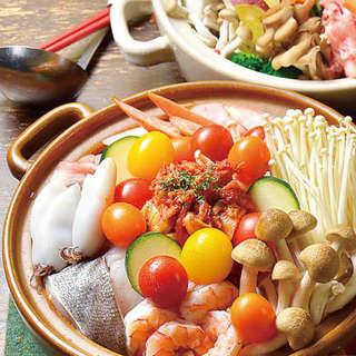 Switch人気の海鮮トマティーナ鍋