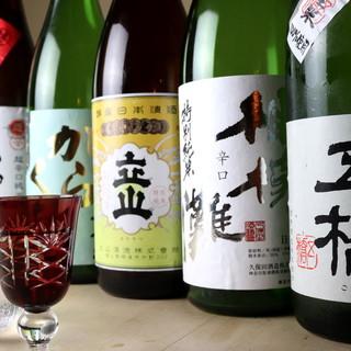 """《種類豊富》""""鮨""""のおいしさを引き立てる最高の美酒を共に…"""