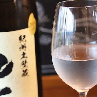 牛肉に意外に合う!日本酒が人気です。