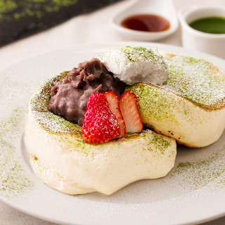 春の新作・抹茶ティラミスパンケーキ