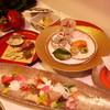 割烹 三長 - 料理写真:卯月の会席料理