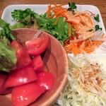 畑の厨 膳丸 - 野菜たち