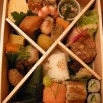 京趣味 菱岩 - 6300円の弁当