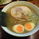 めん和正 - 和正:中華麺、味玉付き