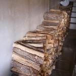 ボン・ボランテ - この薪で焼いてます♪