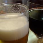 AOI - 生ビールが美味しかった。500円