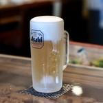 タァナムタイ - キンキンの生ビール♪