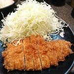 とん竹 - とんかつランチ1