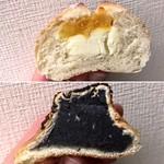 パンドノレーブ - あんずとクリームチーズ 216円(税込) ごまあんぱん 151円(税込)