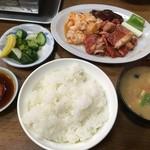 綾城 - 『上焼肉定食』1500円