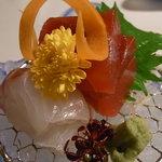 日本料理 きたがわ - 刺身