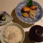 日本料理 きたがわ - 焼き物とごはん