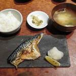ぐあん - 【ランチ】 焼魚定食 \1000
