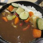 カフェ&レストラン グリーンテーブル - 野菜たっぷりのスキレットカレー