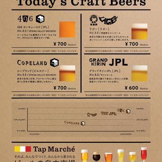 タップマルシェクラフトビール!!