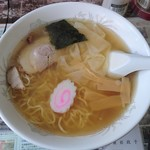 福 - 雲呑麺600円(ネギ抜き)