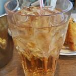 ケンタッキーフライドチキン - ウーロン茶