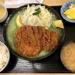 83316137 - 上ロースカツ定食1500円
