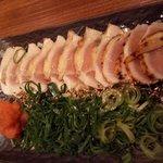 宮崎県日南市 塚田農場 - 鶏胸肉のたたき