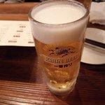 宮崎県日南市 塚田農場 - 生ビール、キリン一番搾り