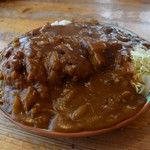 あしま園 - 料理写真:カツカレー