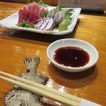 魚虎 - 料理写真:おすすめの刺身を