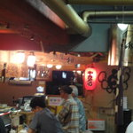 横川屋台村 下町酒場 和 - 赤提灯が呼んでいます