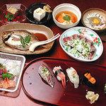 寿司常 - 立喰かいせき《一例》        4800円