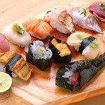 寿司常 - 立喰コース《一例》               3150円