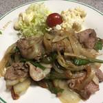 五・六・八食堂 - 豚肉生姜炒め
