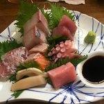 ウオトシ御食事処 - 料理写真:おまかせ海鮮盛り @1500-